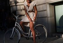 Cycle Chic / Cycling is a mode of transportation. No need to sacrifice your style while doing it. / by Risa Pantoja