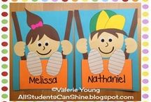Fall-Back to School-Crafts / by Mary-beth Nickerson