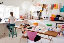 Work spaces / by Niceparty