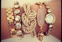 My obsession with accessories <3 / by Stephanie Faloon