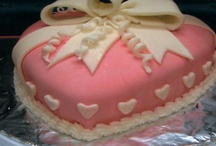 Valentine's Day cake ideas / by Donna Lemery (Life's Cake)