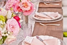 Tabletops/place settings  / by Jessica Aronis