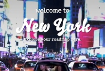 smart road trip New York / Ready to experience all that New York City has to offer? From burlesque shows to ski chalet themed rooftops, NYC is a traveler's dream come true. Check out these insider tips, and get to know New York like a local. / by Official smart USA