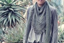 Knit Crochet Patterns Shawls Scarves Cowls / by KnitzyBlonde