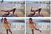 work it out. / by Evanda Estes