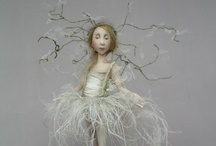 Art Dolls / These aren't just any dolls, they are my favorites! / by Happy To Know You  (Sandy)