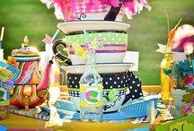 Mad Hatters Tea Party / Mad Hatters, Tea Party, Alice, Wonderland, Alice in Wonderland, Mad Hatter, Queen of Hearts / by Tracy Mindbee