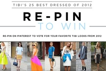 Tibi's 25 Best Dressed from 2012 / by Tibi