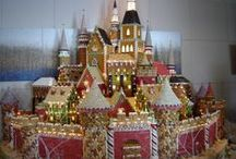 Gingerbread houses / Inspiration, ideas and awe. / by Country Kitchen SweetArt