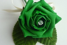 """Emerald Green Expressions / """"EMERALD"""" WORD WAS FIRST USED IN THE 14th CENTURY TO INDICATE A BRIGHT GREEN PRECIOUS STONE CONSISTING OF CHROMIUM-RICH VARIETY OF BERYL, PRICED AS A GEMSTONE   / by Valentina Interiors & Designs"""