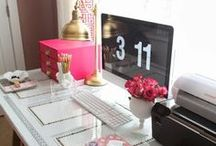 Home Office / Ideas for setting up a beautiful home office. / by Worldwide101 Virtual Assistants