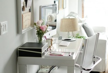 rose & ruby studio / inspiring spaces and places to work. / by Rose & Ruby Paper Co.