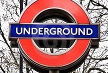 London Underground ♥  / by Iberia J. Denegri
