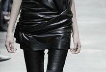 THE LEATHER LOOK / All leather, all the time / by Lauren Messiah