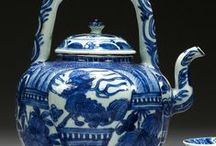 Blue and white pottery / by Maddy O'Connell