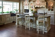Grand European Continental Casual Kitchen / by Habersham Home