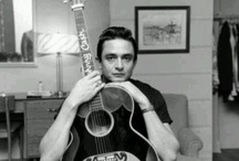 The Man In Black / Johnny Cash  / by Cindy Grier