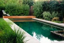 Gardens. Patios. Pools and beyond... / by Karyn Armour