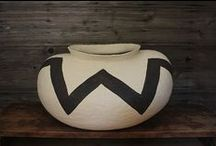 Black & white ceramics / + Silver. Cream.....and other variations. / by Karyn Armour