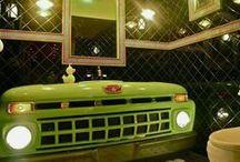Ford Decor / Have Ford in your garage and inside your home! ZeckFord.com #ZeckFord / by Zeck Ford