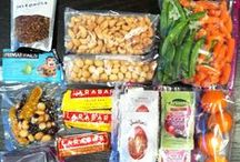 On The Move Snacks / Not all foods were made to be eaten in your car, but some were! Check out these road trip friendly foods!  / by Zeck Ford