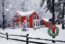 Winter - Christmas .Valentine's Day . St. Patrick's Day / by Toni Bartz