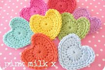 Crochet - ideas patterns tutorials / Ideas patterns tutorials  / by SewLovelyCupcake - Kristen