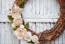 Wreaths / by Jessica @ Two Shades of Pink