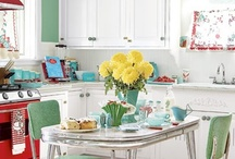 Décor-Retro-Kitchens / It's good to reflect on our past. These designs have many great ideas! / by Phyllis Grant