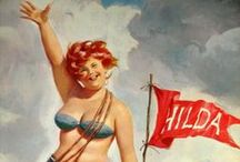 Hilda <3 / The internets funnest and coolest pinup / by Karen Louise