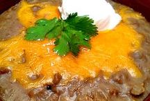 Frijoles Refritos (Refried Beans) / by Vicki Stokes