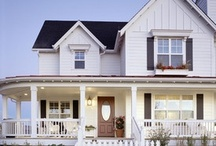 Dream Homes / by Carolyn Tarver
