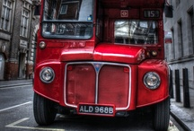 London Red #Bus / The first toy I owned was a red bus. It was a Routemaster, made of Lego and I pushed it off a table. Obviously it broke, but being Lego, was easily reassembled. Still ride the heritage Routemasters 9 & 15, if I see one going my way. / by InsideGuide toLondon