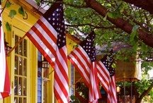 America - The Red, White and Blue / by Carolyn Tarver