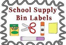 Home School - Set-up & Organization / by Darla Compton