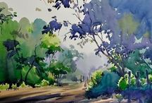 Art - Watercolor painting / by Lynda Nichol