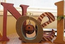 ♥ ♔Christmas Wood Projects ♔ ♥ / by D Marie Bass-Keller