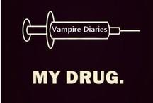 Vampire Diaries  ☠✝♱✟♰✞⚜✡ / by Viola Chow