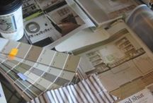 PAINT & WALLPAPER / Paint and wallpaper guide. / by Lydia Moss