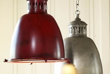 Lighting fixtures / by Cheryl McCulla