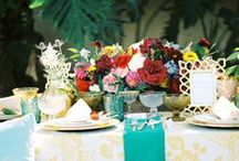 VINTAGE & ANTIQUE TABLESCAPES / Gorgeous vintage and antique-inspired table decorations that inspire me. / by Tori Avey