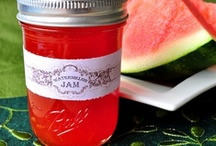 preserves│jams & jellies / Recipes for jams, jellies and other sweet preserves. / by Julie