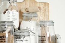 kitchen│labels & cards / Labels for preserving and storage, and recipe cards. / by Julie