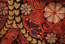 Suzani / Uzbek embroidery / by Natalie Sudborough