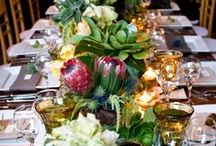 Our Terrific Tabletops  / Just a sampling of some of our favorite tablescapes we have produced... Whether you decide to go simple and plain or extravagant and lavish, make it uniquely your own.  / by Kristin Banta Events