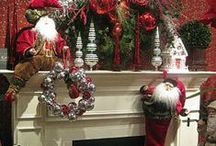 The decorated MANTLE / by Connie Robinson