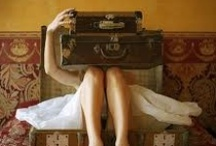 Vintage SUITCASES / by Connie Robinson