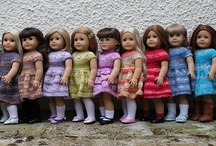 """AG & other 18"""" dolls / by Janice Helge"""