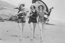 vintage BATHING SUITS / by Connie Robinson