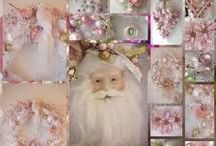 CHRISTMAS---SHABBY CHICK STYLE / by JGW